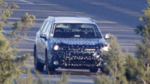 2015 Subaru Outback spy photo