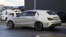 Mercedes-Benz CLA 45 AMG Shooting Brake spy photo