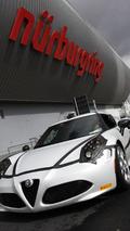 Alfa Romeo 4C at Nurburgring