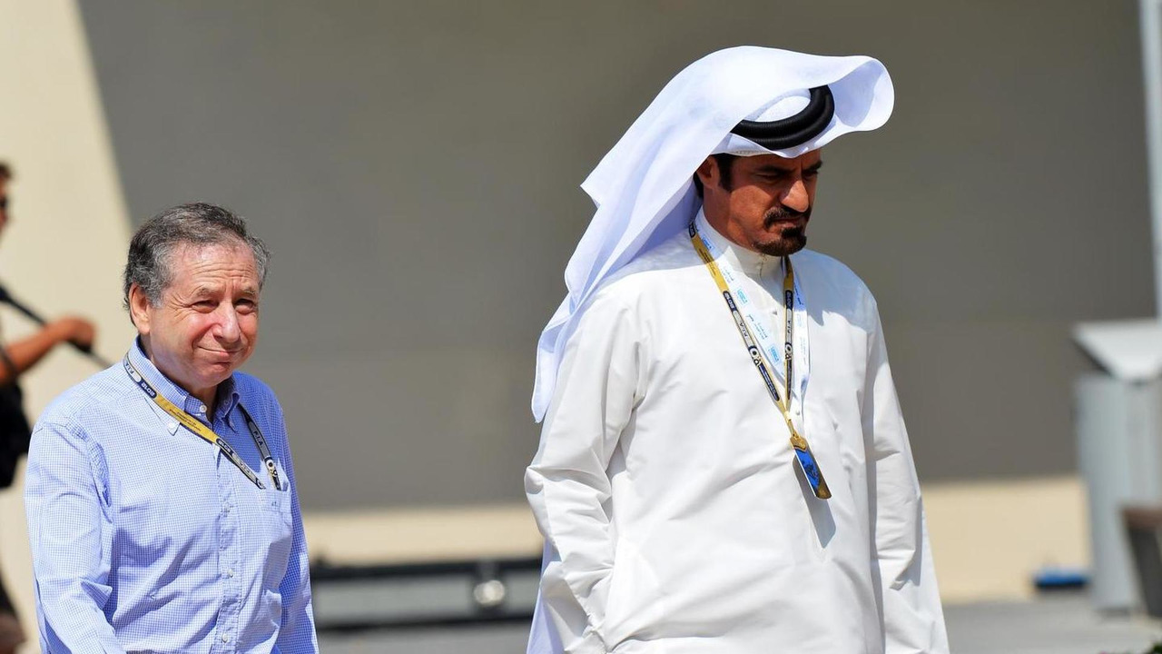 Jean Todt with Mohammed Bin Sulayem 03.11.2012 Abu Dhabi Grand Prix