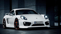 Porsche Cayman prepared by TechArt heading to IAA