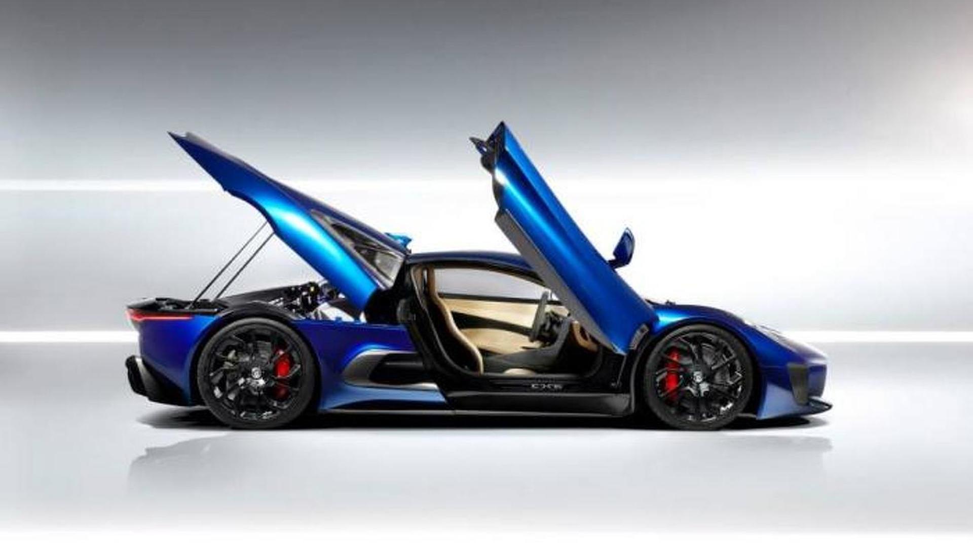 Jaguar shows off their C-X75 prototype