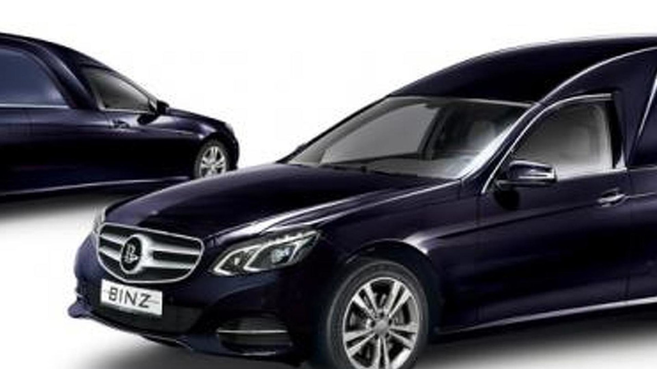 BINZ Otheos based on the 2014 Mercedes-Benz E-Class Wagon facelift