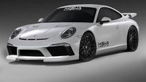 Misha Design to introduce their Porsche 911 body kit at SEMA