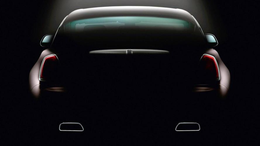 Rolls-Royce Wraith (Ghost Coupe) teased once again