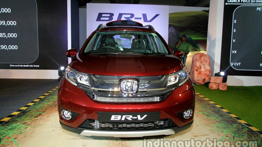 Honda BR-V launched in India