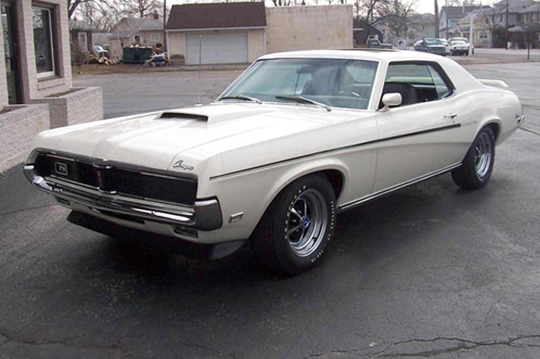 Bold School: 1969 Mercury Cougar 428 Eliminator