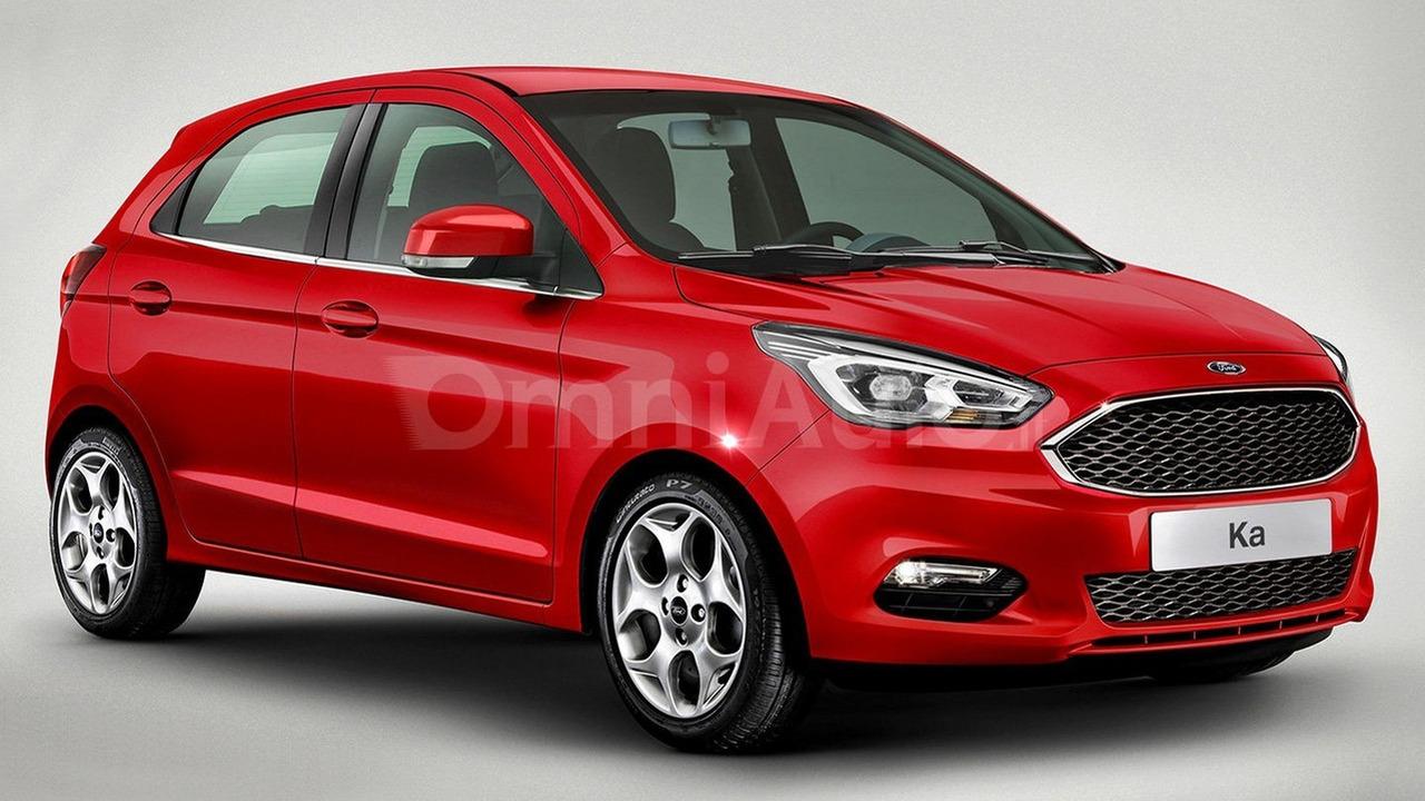New Euro-spec Ford Ka render