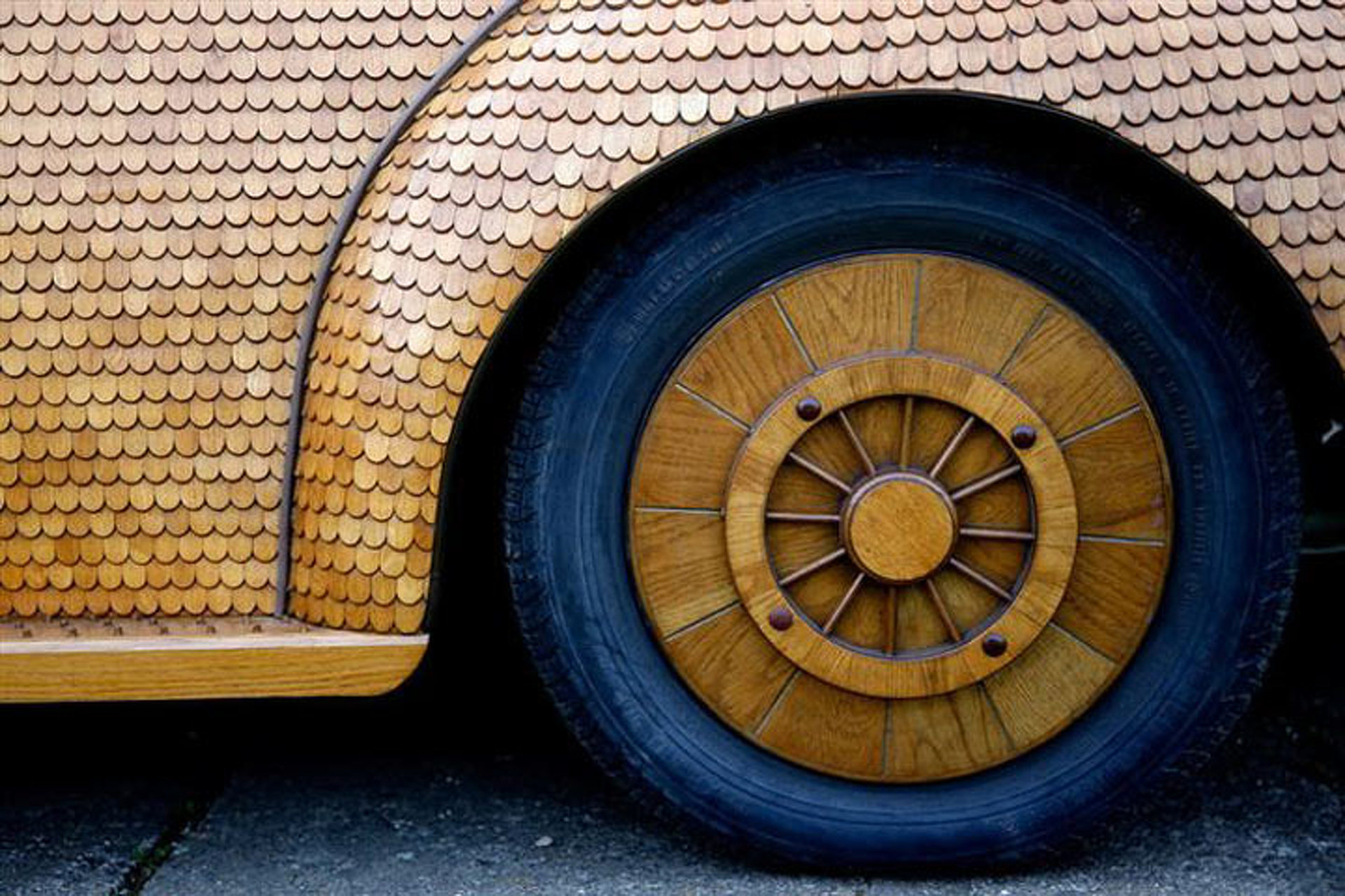 Woodn't You Like to Drive This VW Beetle?