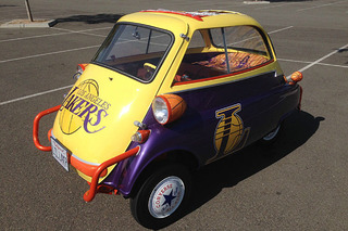 Like the LA Lakers? You'll Love This BMW Isetta