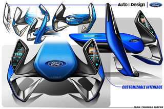 This Could be the Ford Steering Wheel of the Future