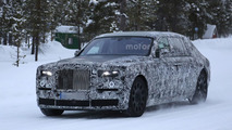 2018 Rolls-Royce Phantom spied with short & long wheelbases