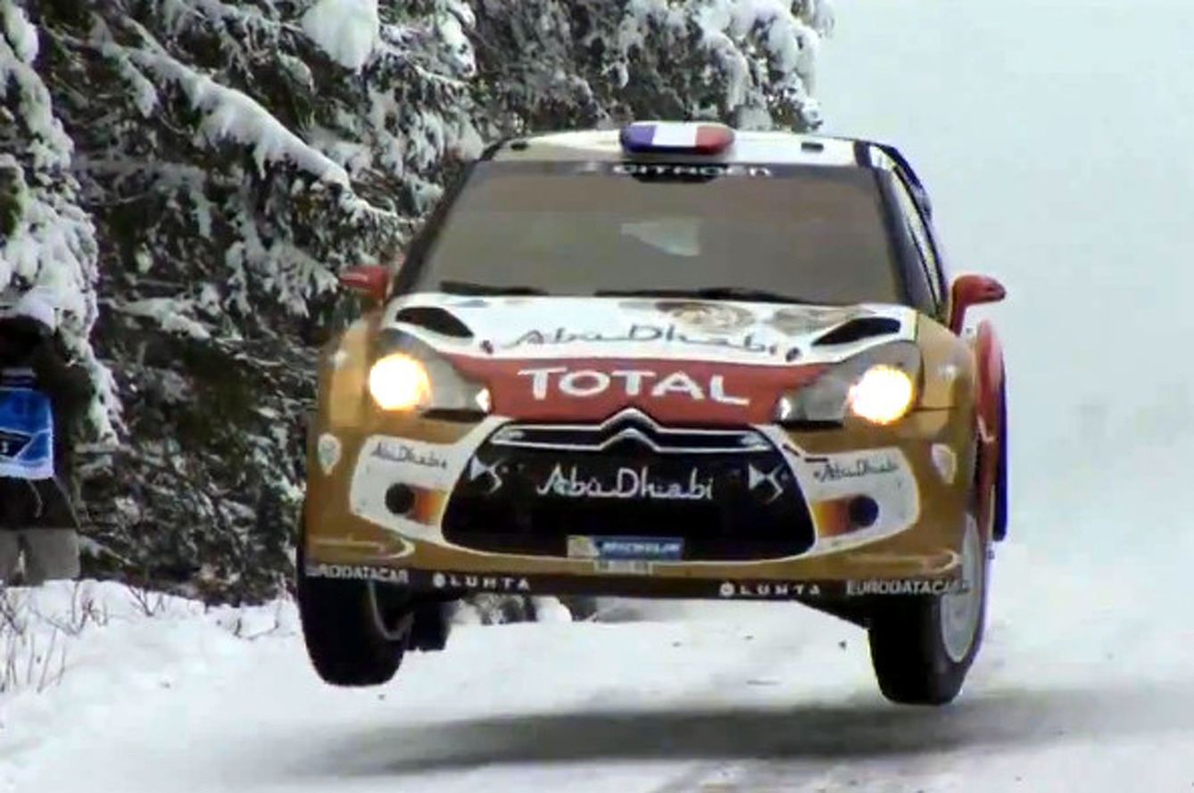 Craziest Videos from WRC Sweden