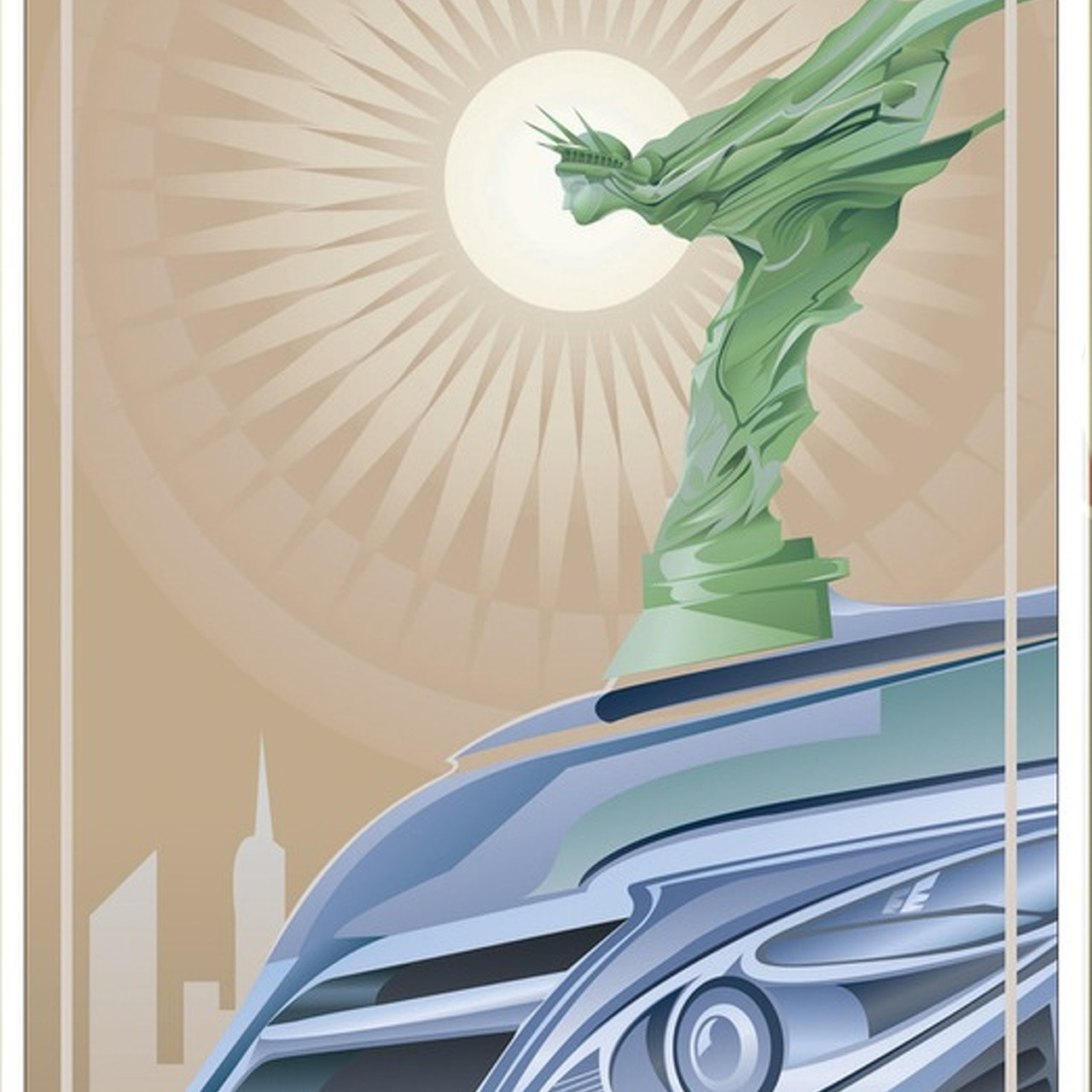New York Auto Show Artwork Through the Mind of Designer Orlando Arocena