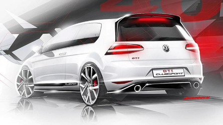 See the Volkswagen Golf GTI Clubsport in action at Algarve track [video]