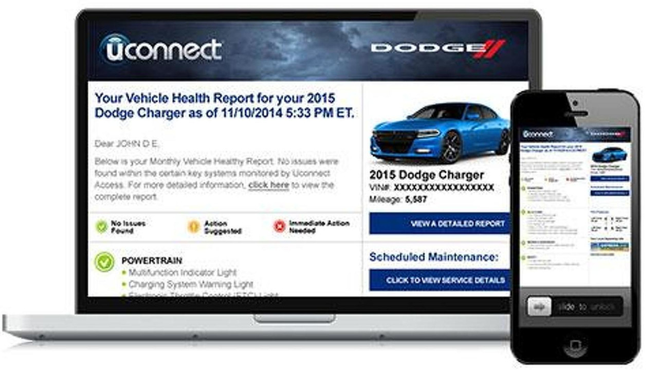 Chrysler Uconnect Access services