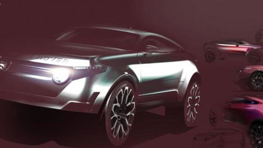 Range Rover LRGT Concept rendered