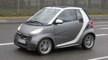 Smart fortwo second facelift spy photos 23.01.2012
