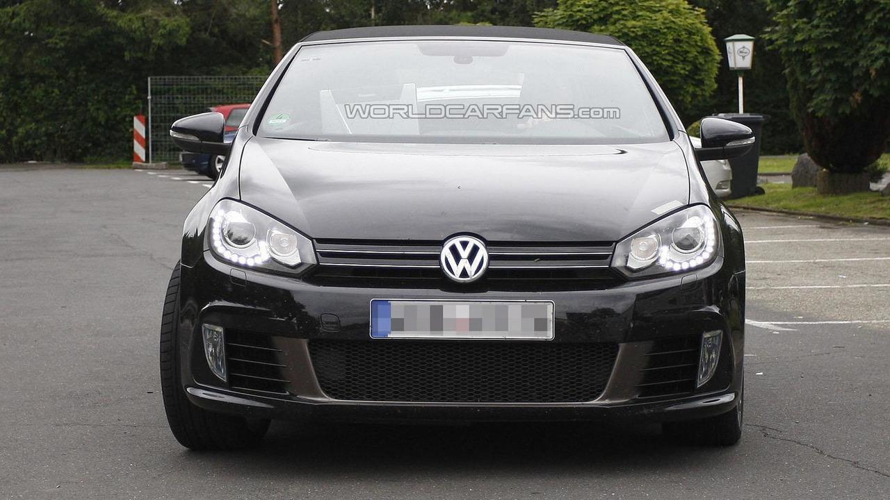 Volkswagen Golf R Cabriolet spy photo 21.6.2012