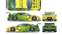 Mike Rockenfeller (Schaeffler Audi A5 DTM) 21.3.2012