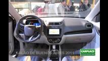 Direto da Argentina: Chevrolet Cobalt Concept é revelado no Salão de Buenos Aires