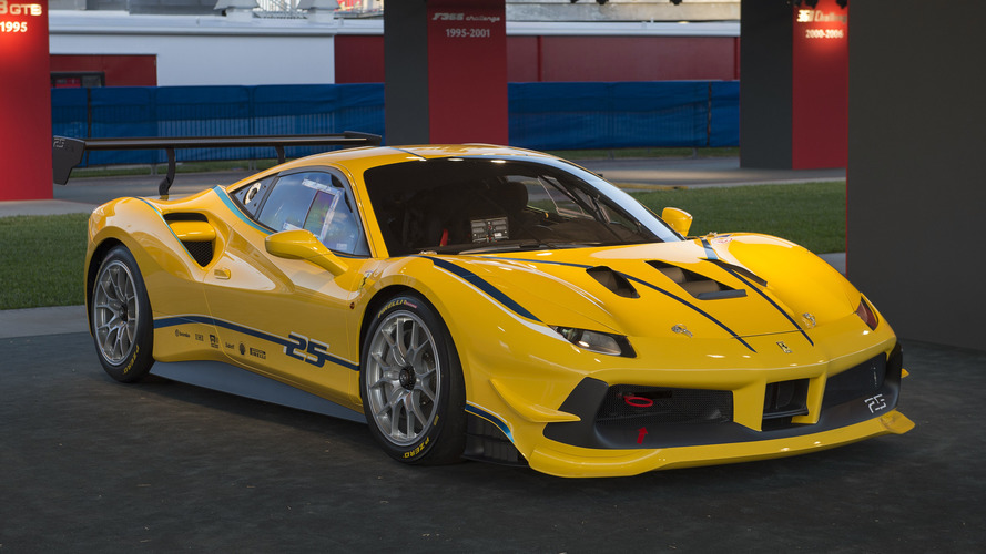Ferrari 488 Challenge debuts as brand's first turbo one-make race car [28 Photos]