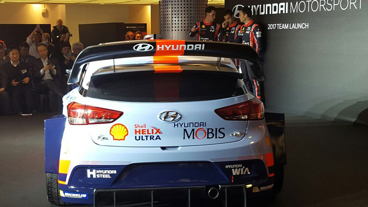 Wonderful 2017 Hyundai I20 WRC Ready To Race