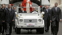 Mercedes Fine Weather Popemobile