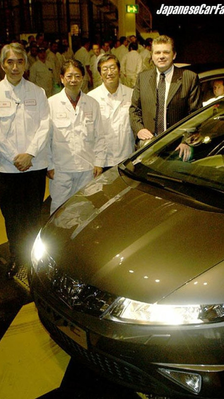 Mass Production of New Honda Civic Starts