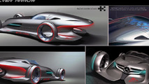 Mercedes Silver Arrow concept for LA Design Challenge - 1.11.2011