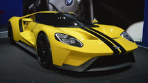 Ford talks 2017 GT aero and design to ease the wait [video]