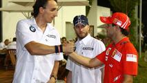 Kubica and Massa play down 2011 Ferrari seat rumours