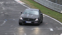 2010 Mercedes CLS 63 AMG prototype spy photo 16.04.2010