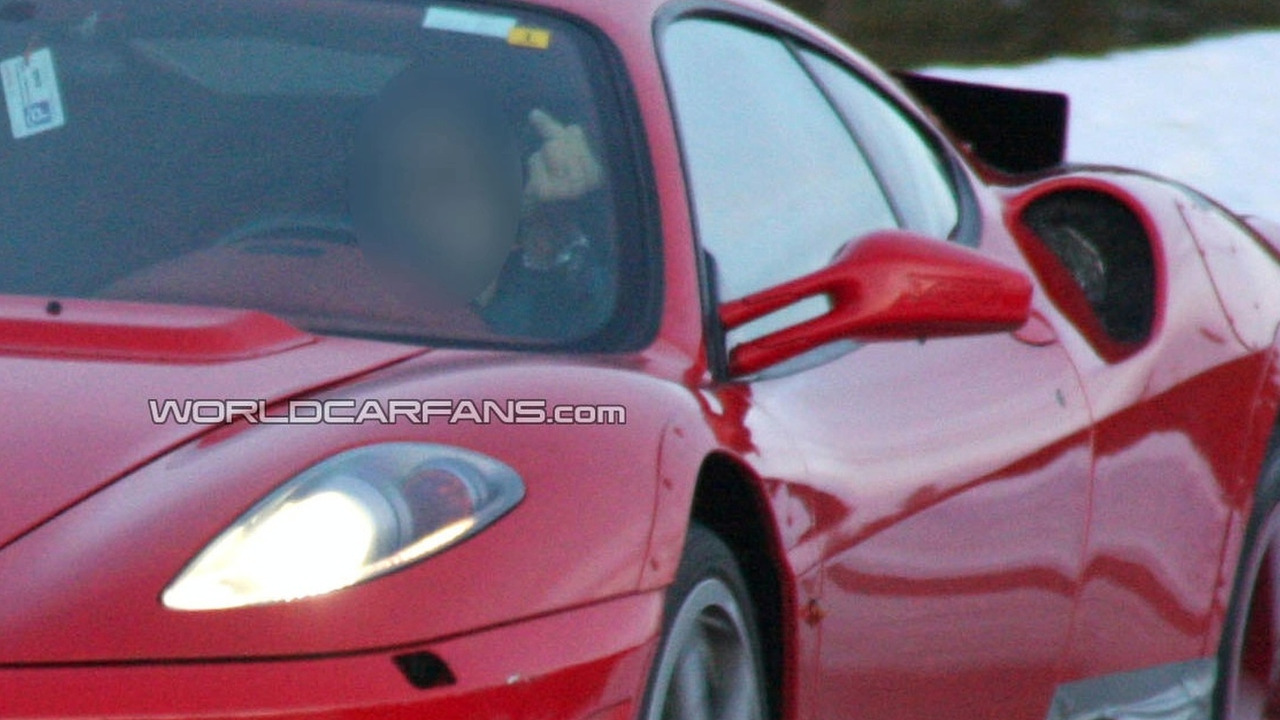 Ferrari F430 replacement mule codename F142