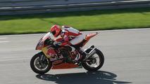 Schumacher testing superbikes before Singapore