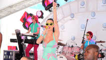 Katy Perry performs as 2011 Volkswagen Jetta make public debut in Time Square, New York