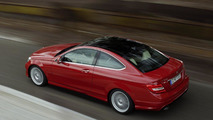 More Mercedes C-Class Coupe photos leaked