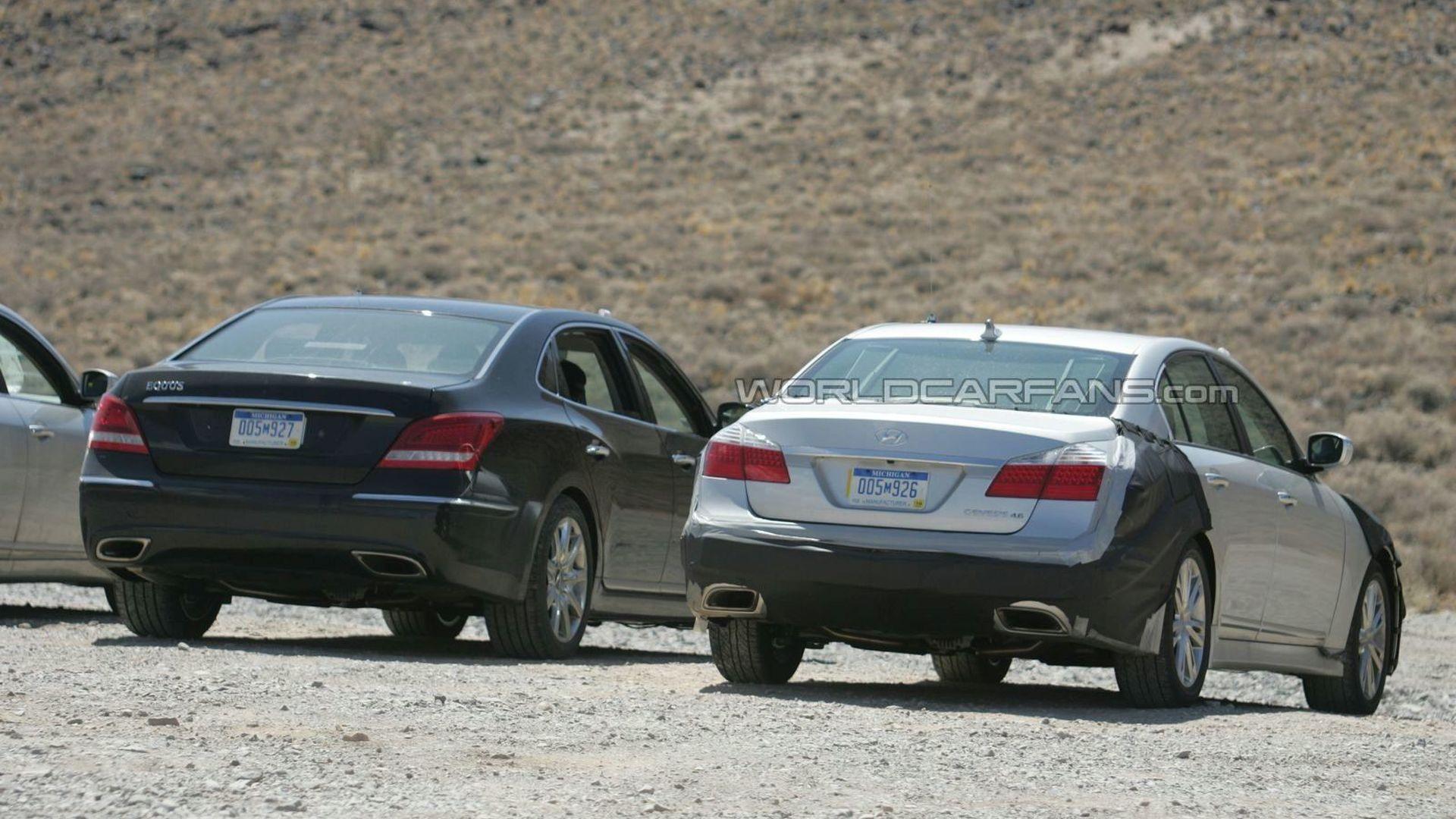 Hyundai Genesis Facelift Spied Already