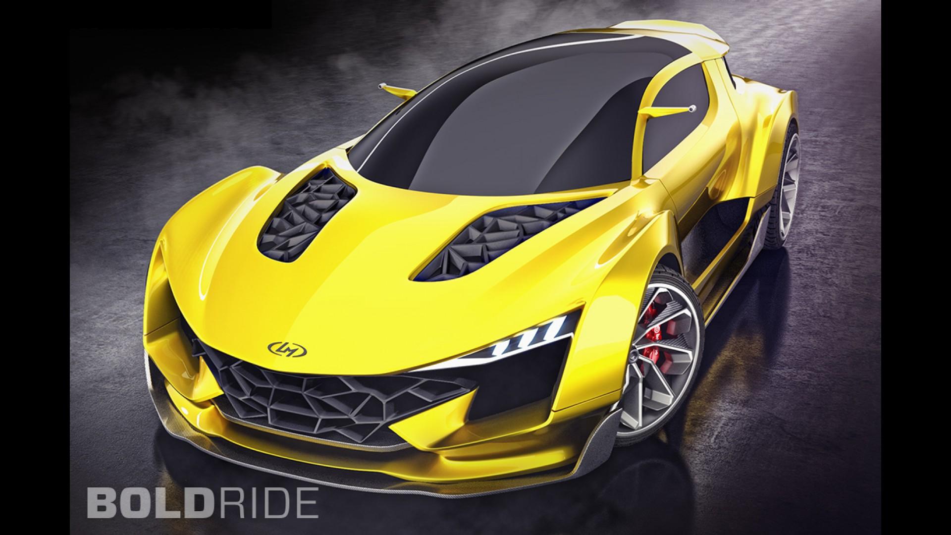 Local Motors GT Vision Blast Concept