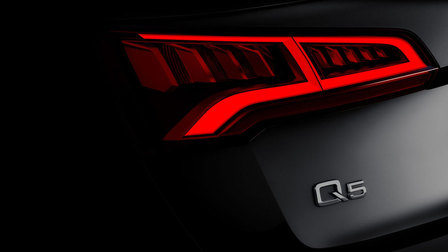 2017 Audi Q5 teaser reveals Paris debut on September 29
