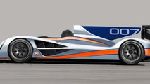 Aston Martin shows new LMP1 race car design for Le Mans 2011