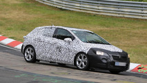 2016 Opel Astra spied testing at the Nurburgring