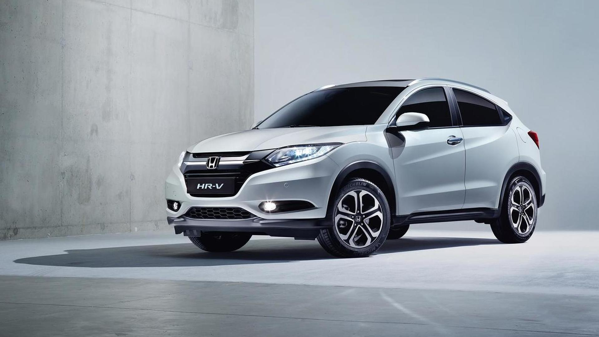 2015 Honda HR-V revealed in European specification