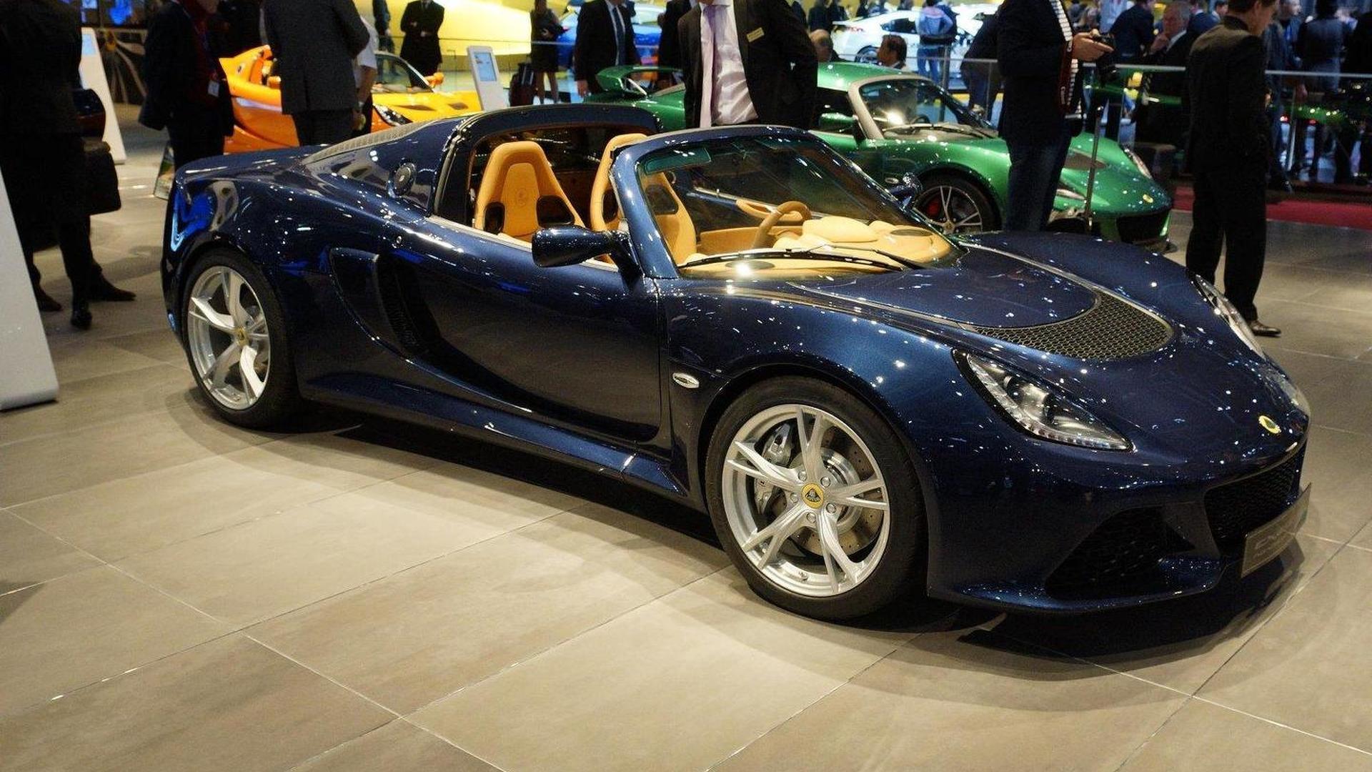 Lotus Exige S Roadster debuts in Geneva