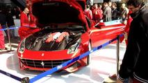 Ferrari F12 Berlinetta first live images in Maranello, 1000, 02.03.2012