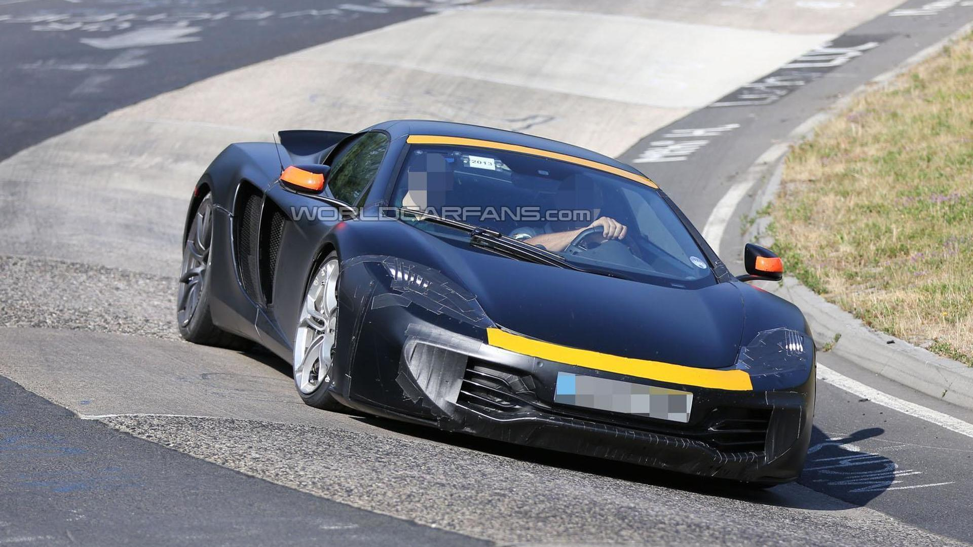 2015 McLaren P13 to have P1-inspired styling - report