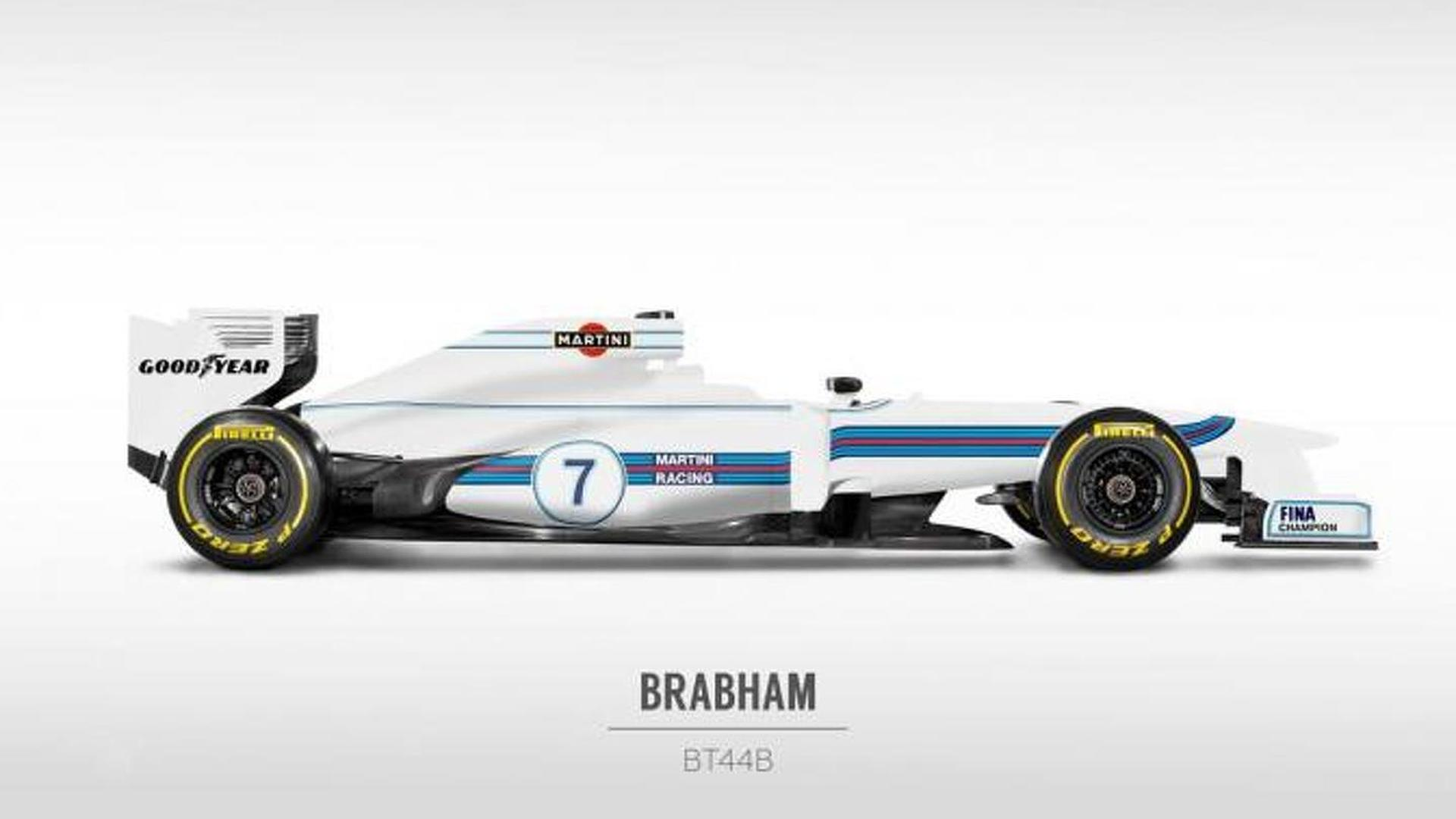 Williams to show Martini livery on March 6