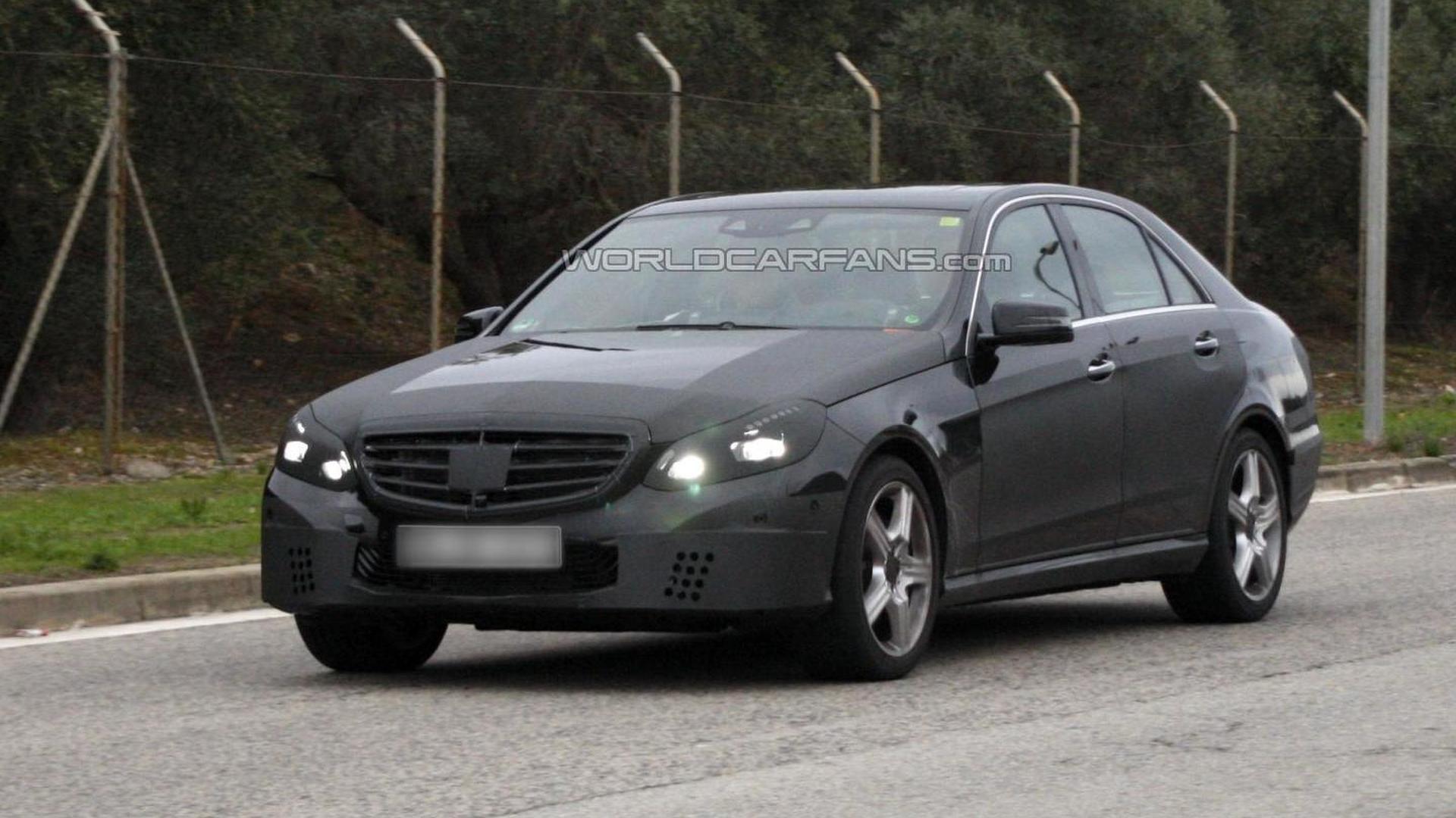 2014 Mercedes-Benz E-Class sedan facelift spied