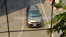 Nissan March/Micra facelift photographed undisguised