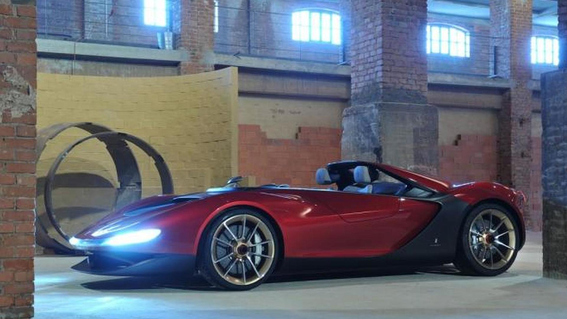 Pininfarina looking for Sergio Concept clients, could cost up to 1.3M GBP